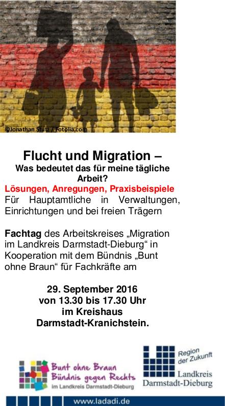 Fachtagung Flucht und Migration?